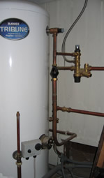 un-vented hot water cylinder
