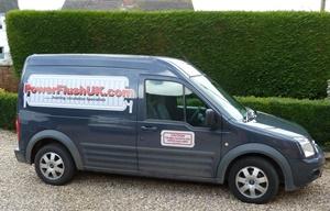 Powerflush UK vehicle livery
