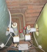 twin cylinder airing cupboard