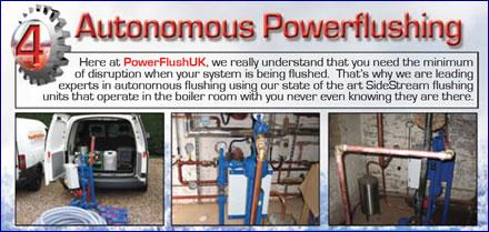 autonomous power flushing
